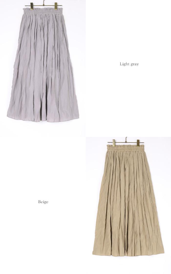 ワッシャープリーツスカート12