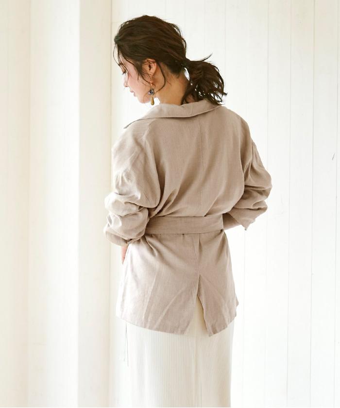 麻混CPOシャツジャケット5