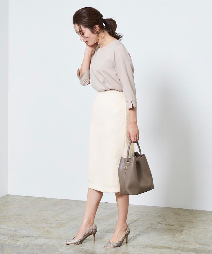 ベーシックツイードタイトスカート8