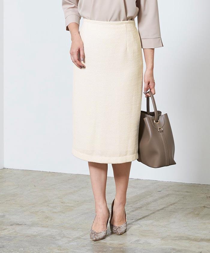 ベーシックツイードタイトスカート10
