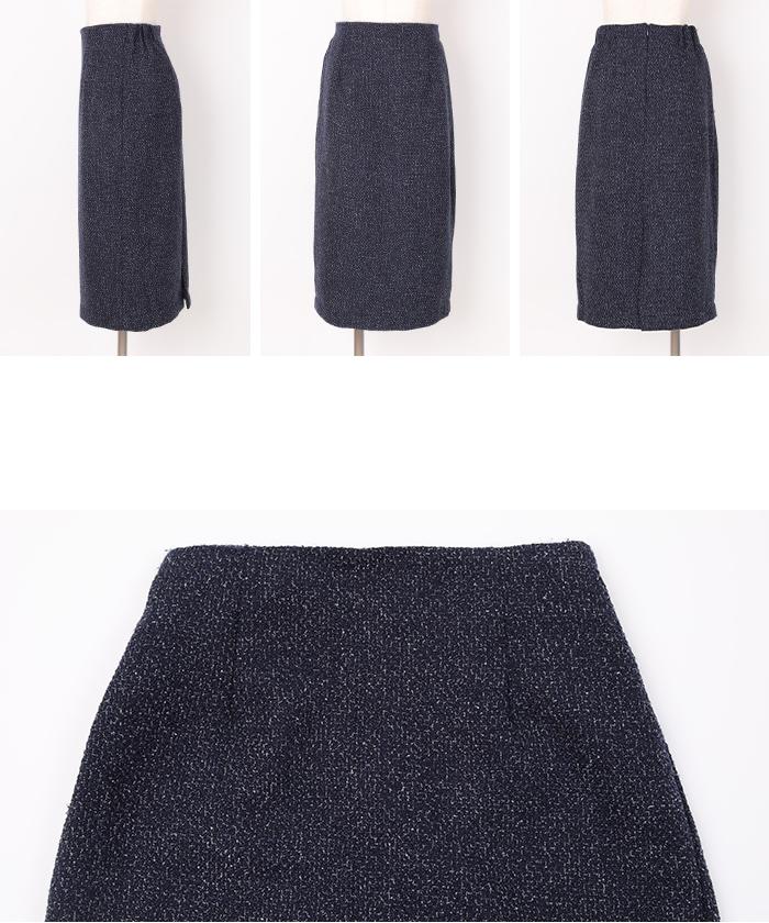 ベーシックツイードタイトスカート14