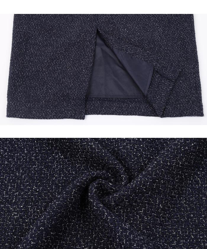 ベーシックツイードタイトスカート16