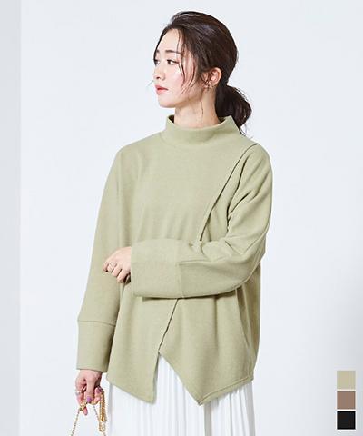 メランジ起毛プルオーバー【メール便可/100】