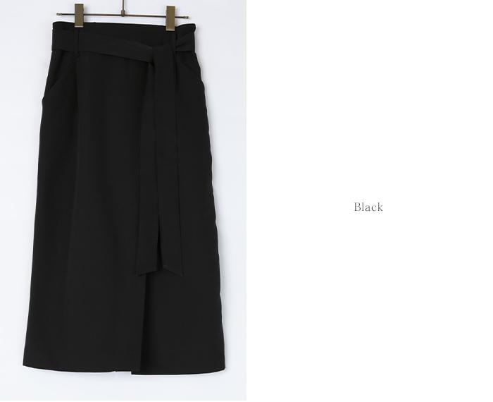 リボン付ラップスカート13