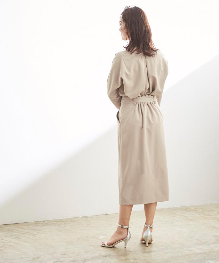 リボン付ラップスカート3
