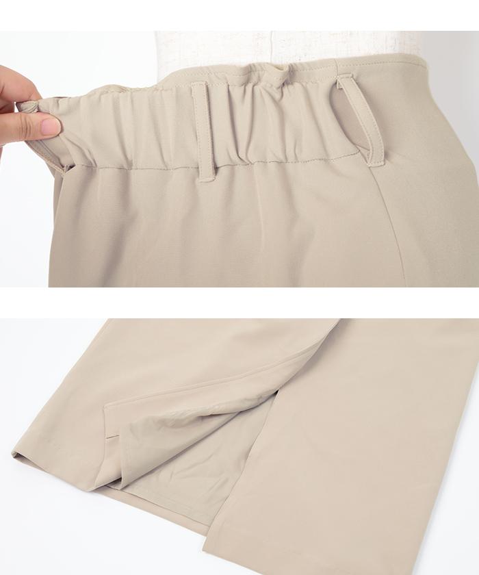 リボン付ラップスカート15