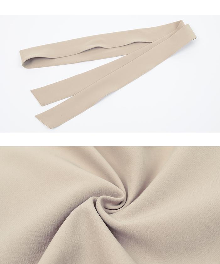 リボン付ラップスカート16