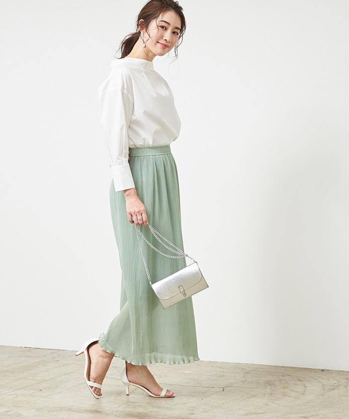 プリーツタイトスカート3