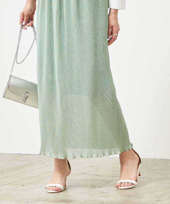 プリーツタイトスカート5
