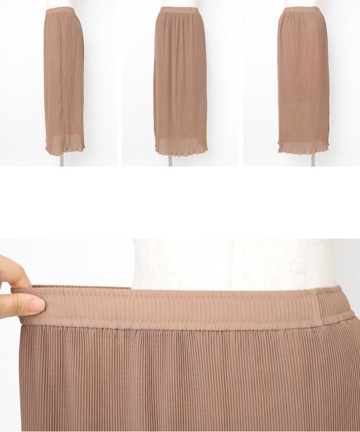 プリーツタイトスカート14