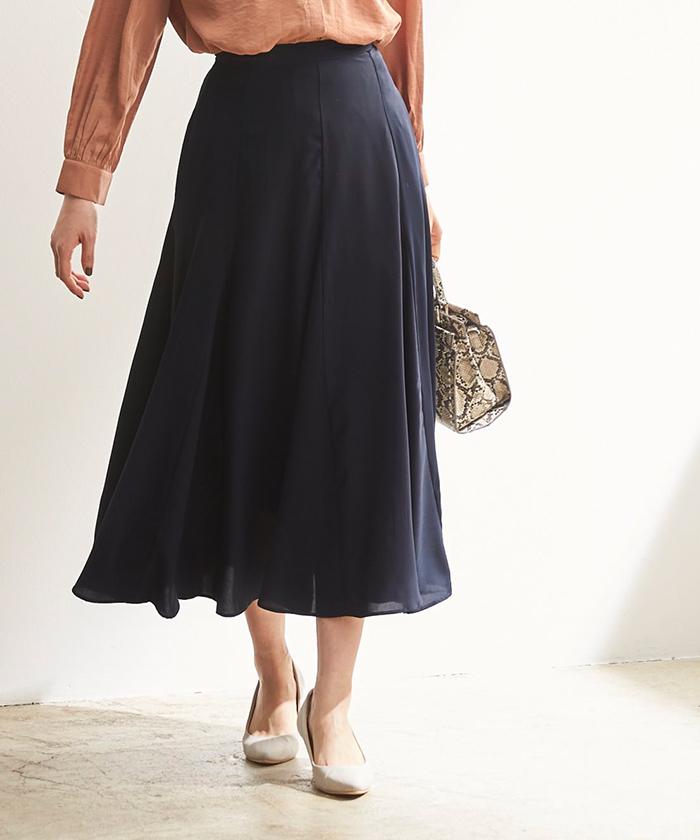 ソフトマーメイドフレアスカート6