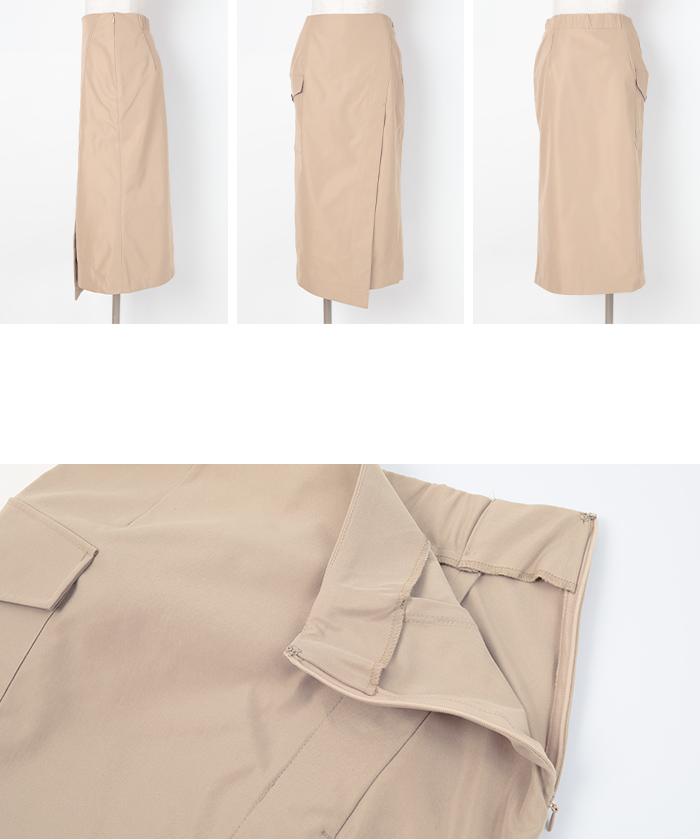 ポケットラップタイトスカート14