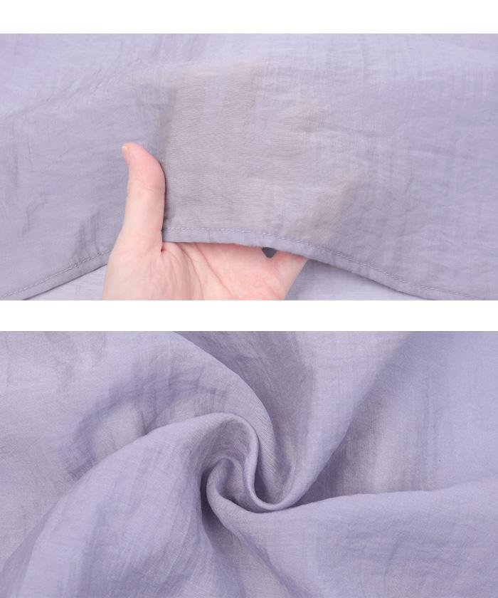 オーバーサイズシアーシャツ16