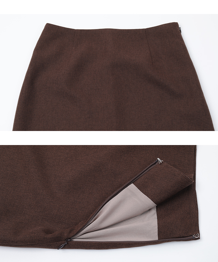 リネンライクタイトスカート15