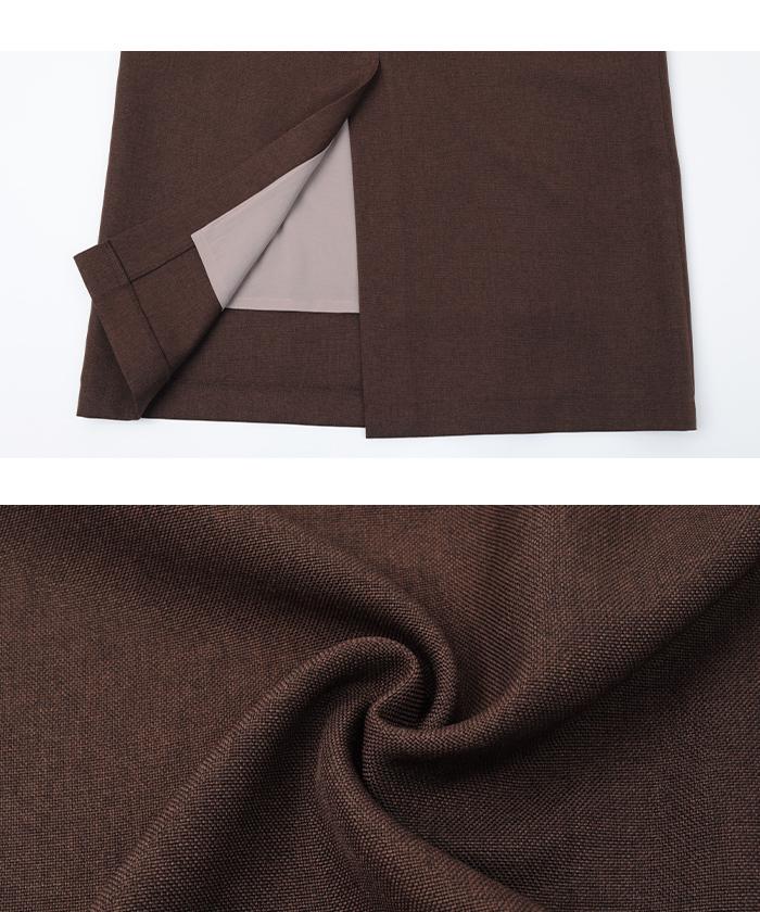 リネンライクタイトスカート16