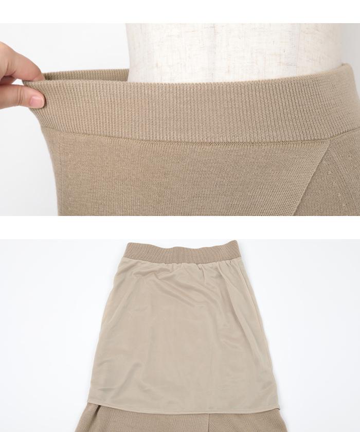 サマーニットラップスカート15