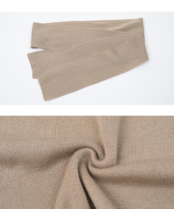 サマーニットラップスカート16