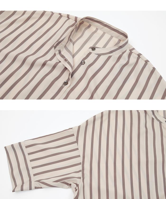 バックタックチュニックシャツ14