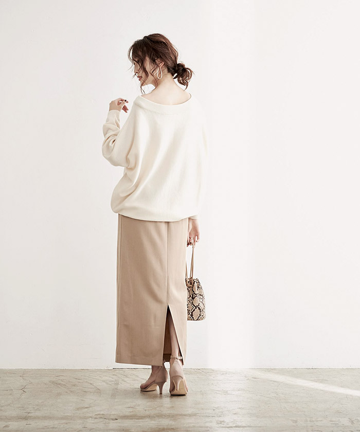 ロングタイトスカート6