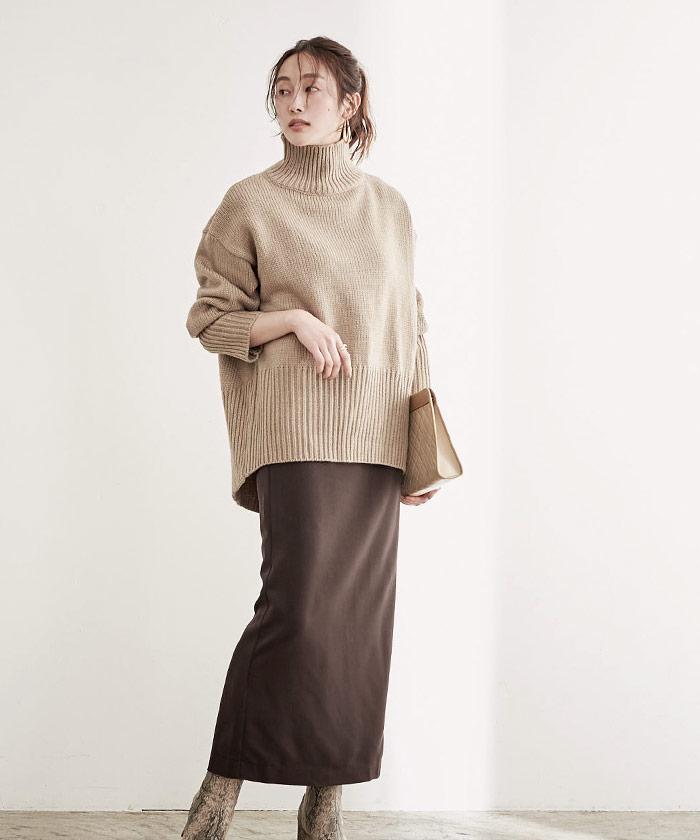 ロングタイトスカート11