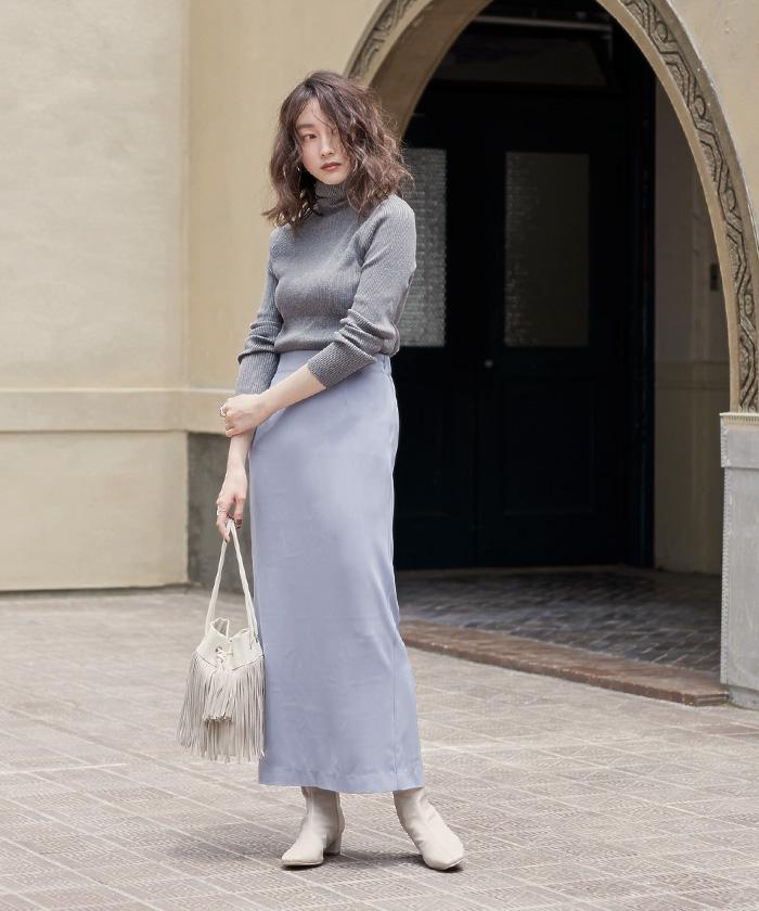 ロングタイトスカート1