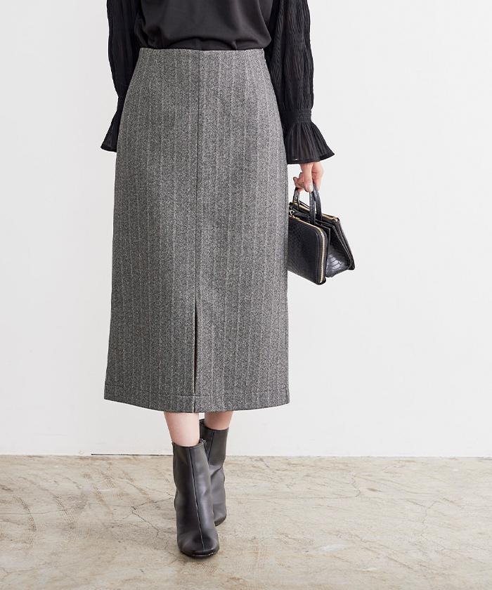スリットタイトスカート2