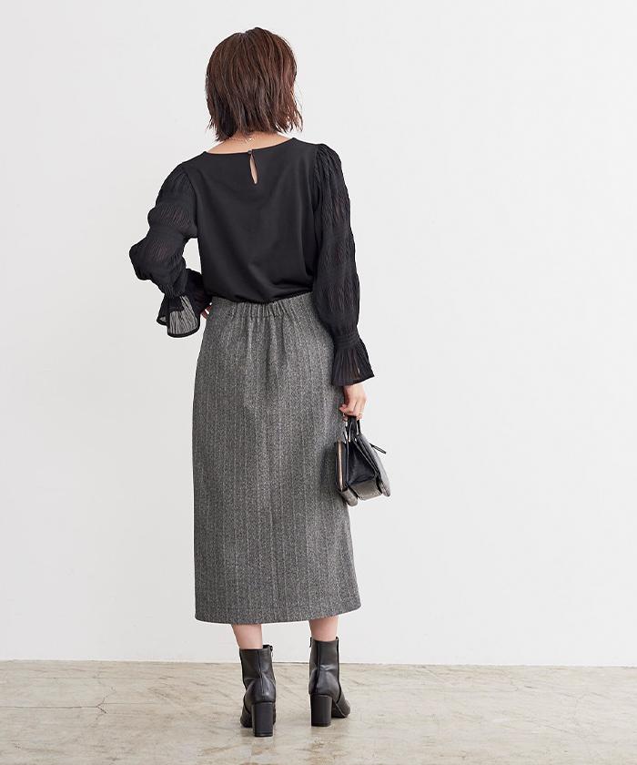 スリットタイトスカート4