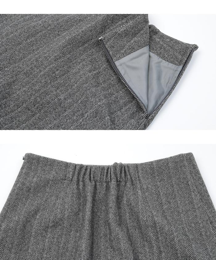 スリットタイトスカート15