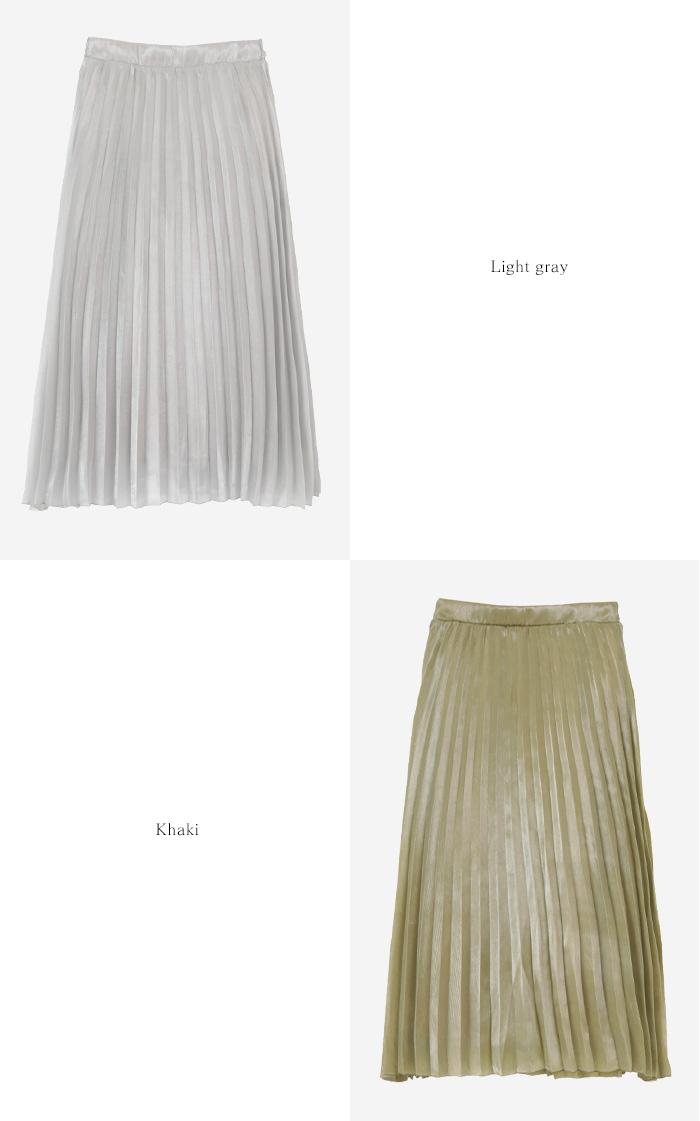 シャイニープリーツスカート12