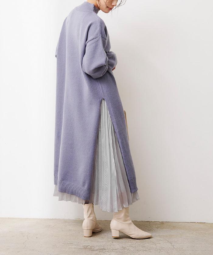 シャイニープリーツスカート9