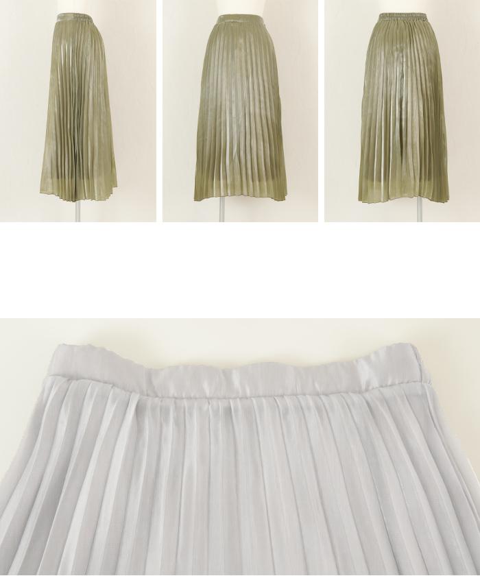シャイニープリーツスカート14