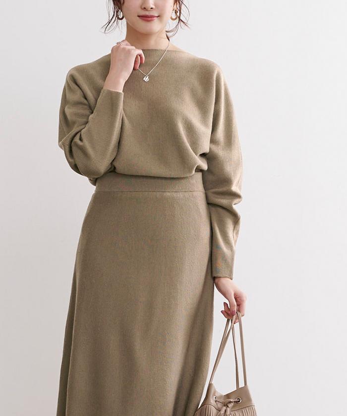 ドルマンニット×スカートセットアップ2