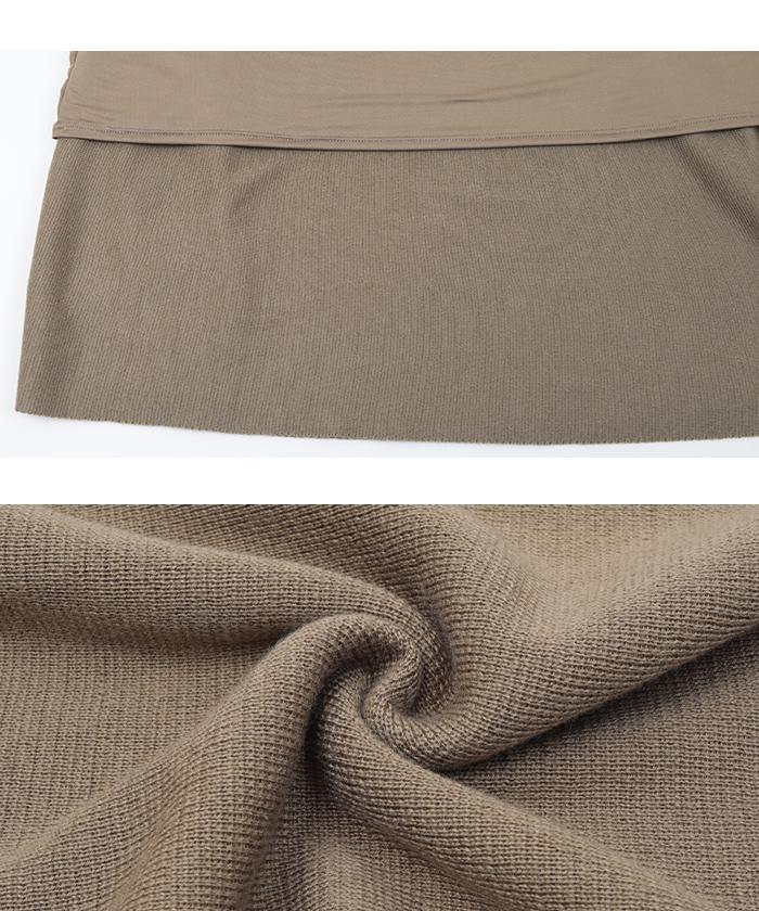 ドルマンニット×スカートセットアップ16