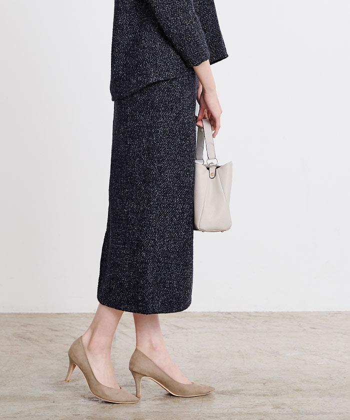 ツイードタイトスカート2
