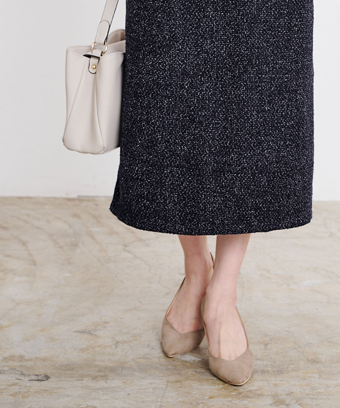 ツイードタイトスカート4