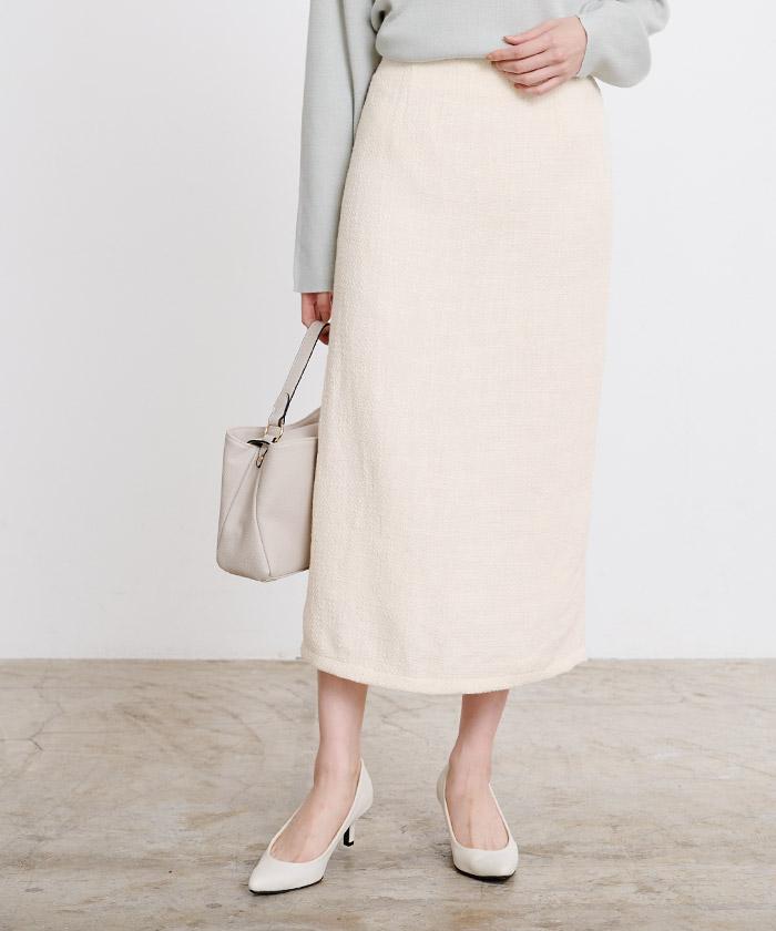 ツイードタイトスカート6