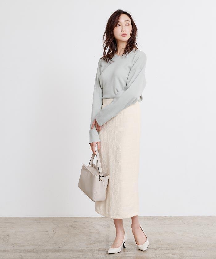 ツイードタイトスカート8