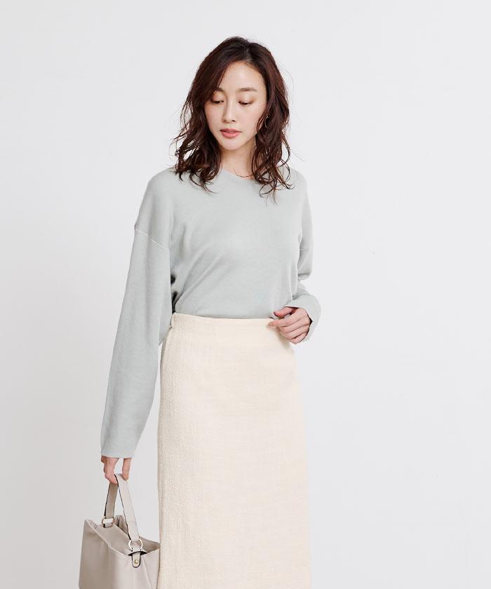 ツイードタイトスカート9