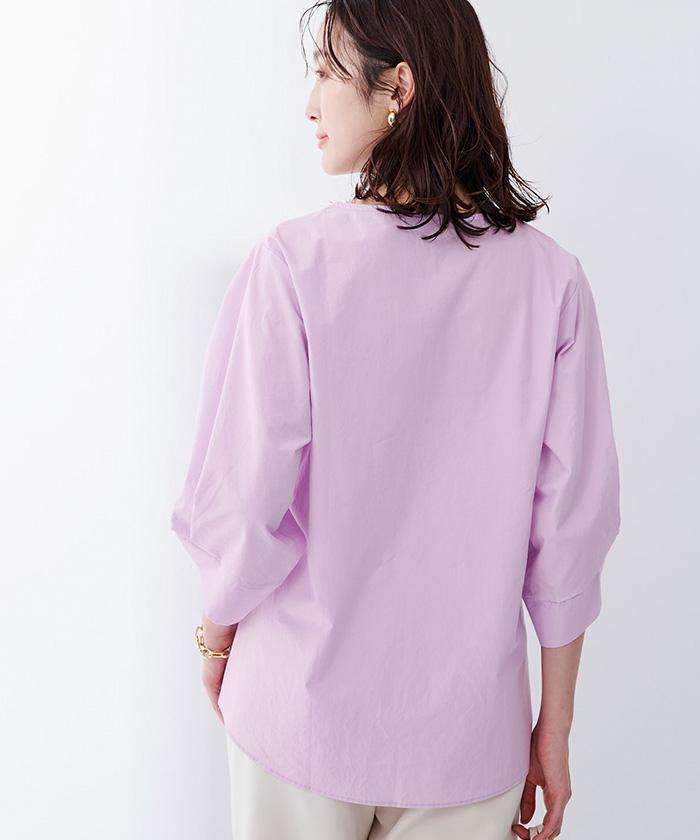 袖デザインブラウス8