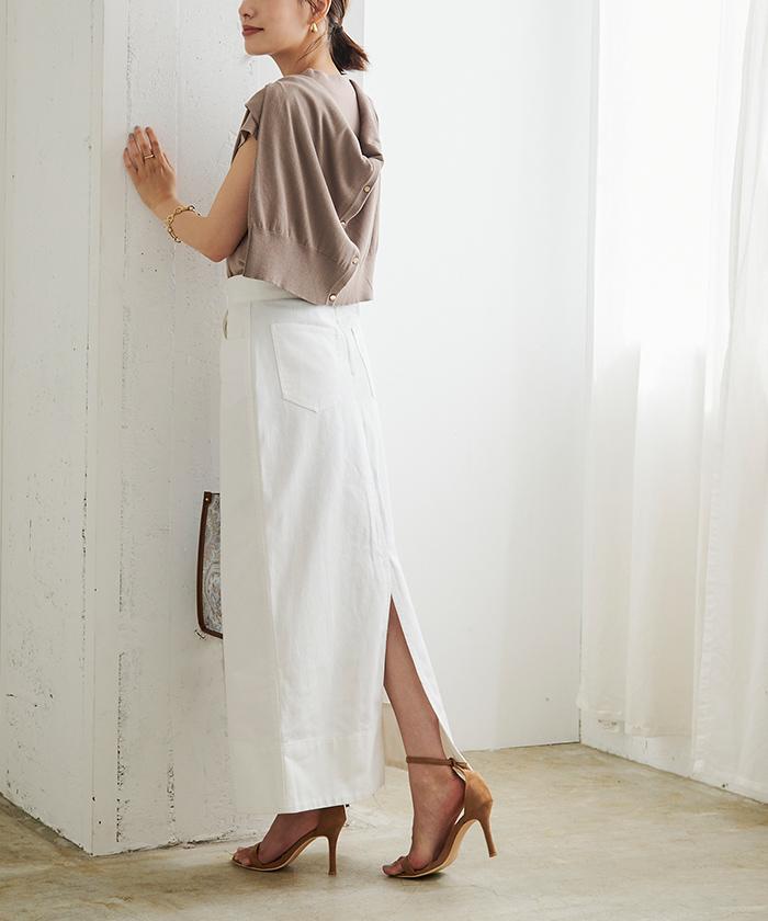 デニムタイトスカート3