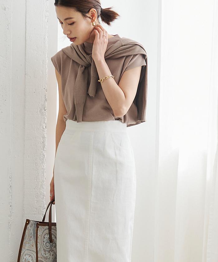 デニムタイトスカート5