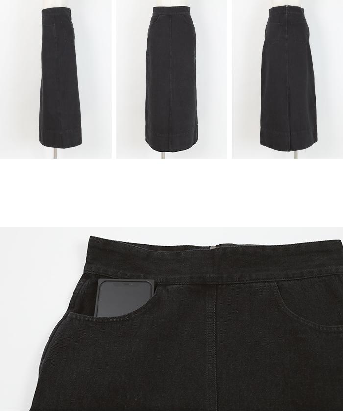 デニムタイトスカート14