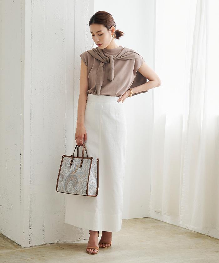 デニムタイトスカート1