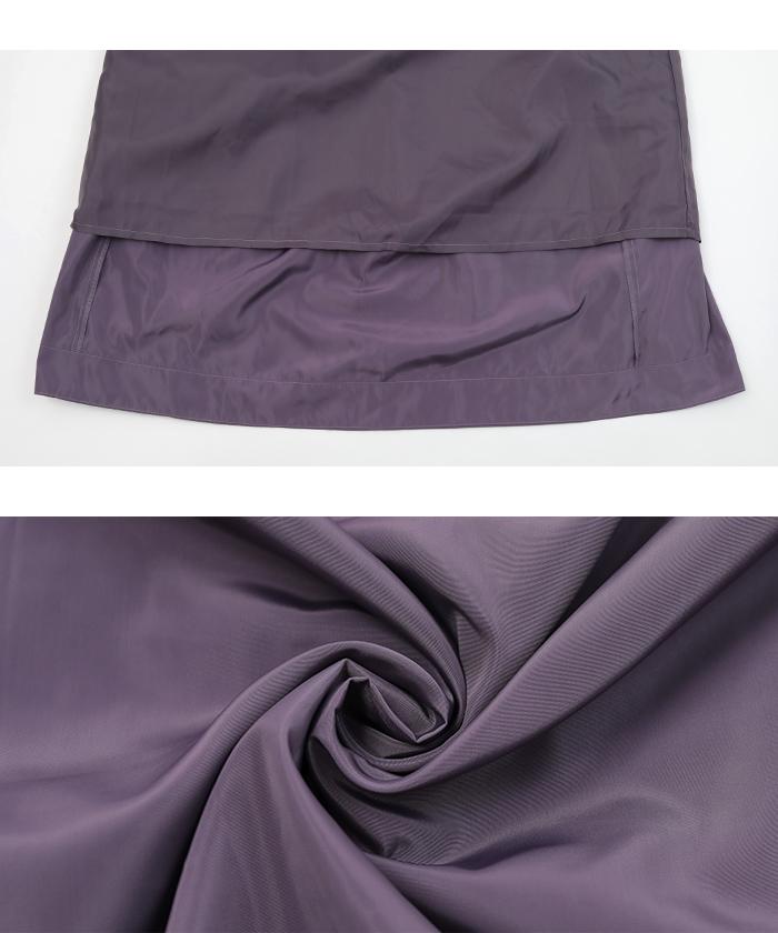 タフタギャザースカート16