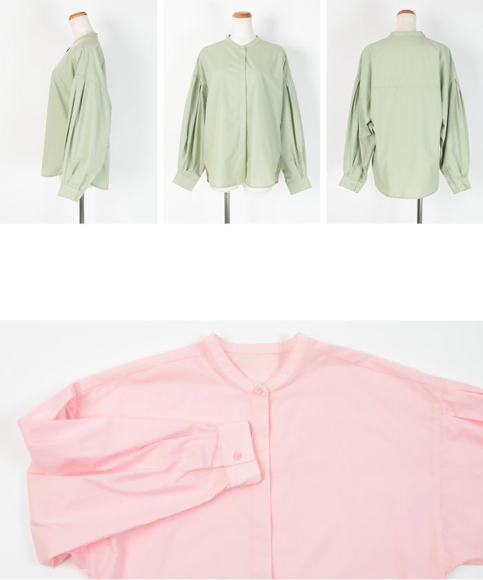 ボリューム袖ブラウス14