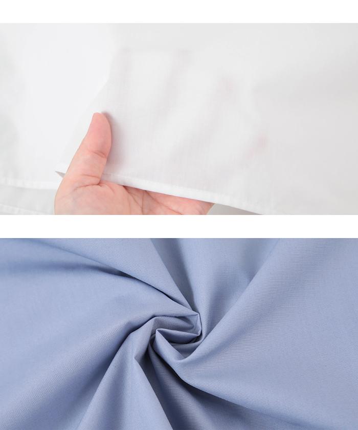 タックスリーブバンドカラーシャツ16