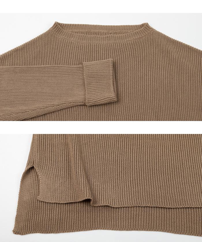 袖折り返しニット×タイトスカートセットアップ14